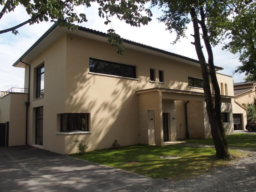 Villa contemporaine - extérieur