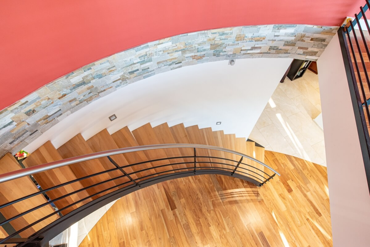 Villa contemporaine - intérieur