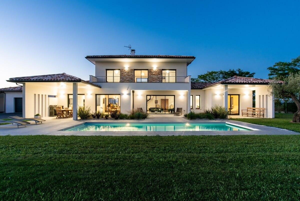 Grand Construction - Villa contemporaine n60