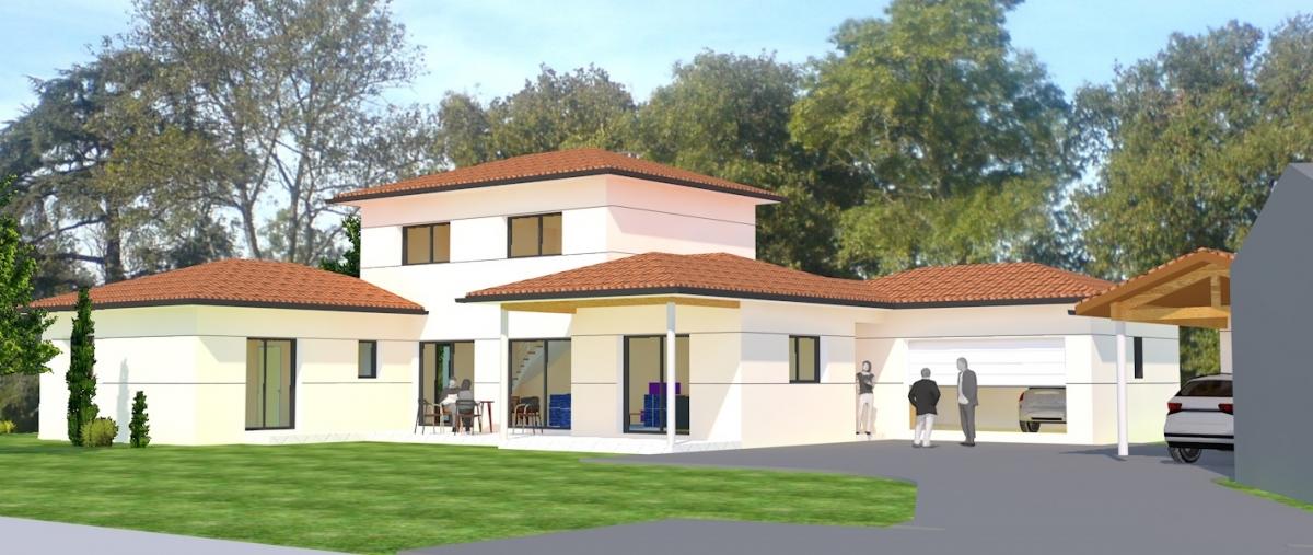 Maison individuelle contemporaine n°55