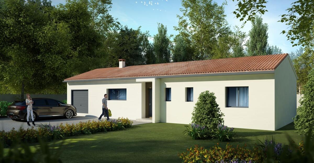 Grand Construction - Maison plain-pied : Maison Trevi