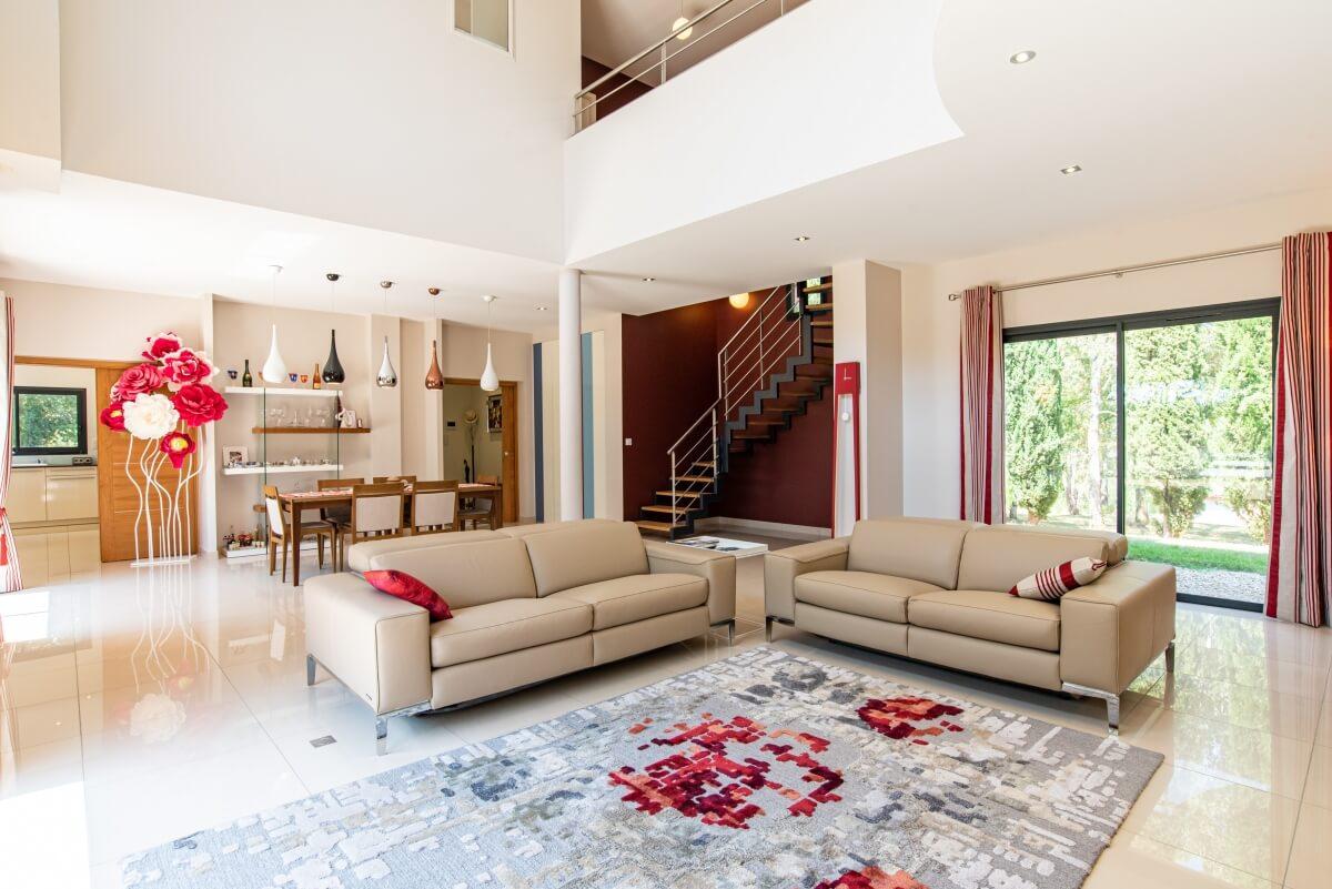 Maison contemporaine - intérieur