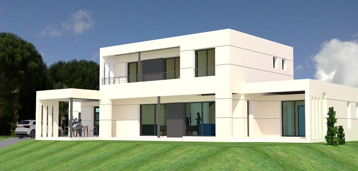 Maison individuelle contemporaine n°54