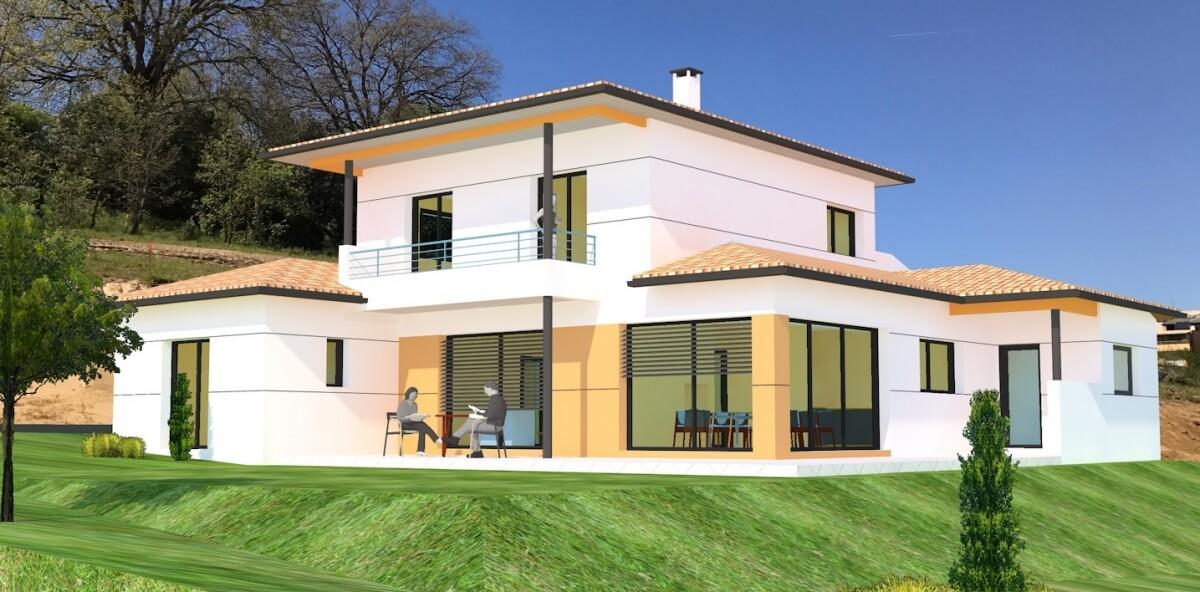 Grand Construction - Maison individuelle contemporaine n°57