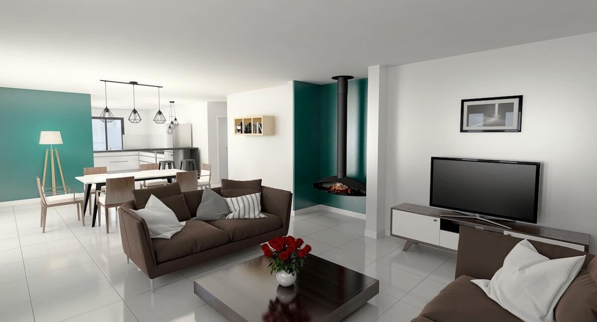 Maison individuelle - intérieur