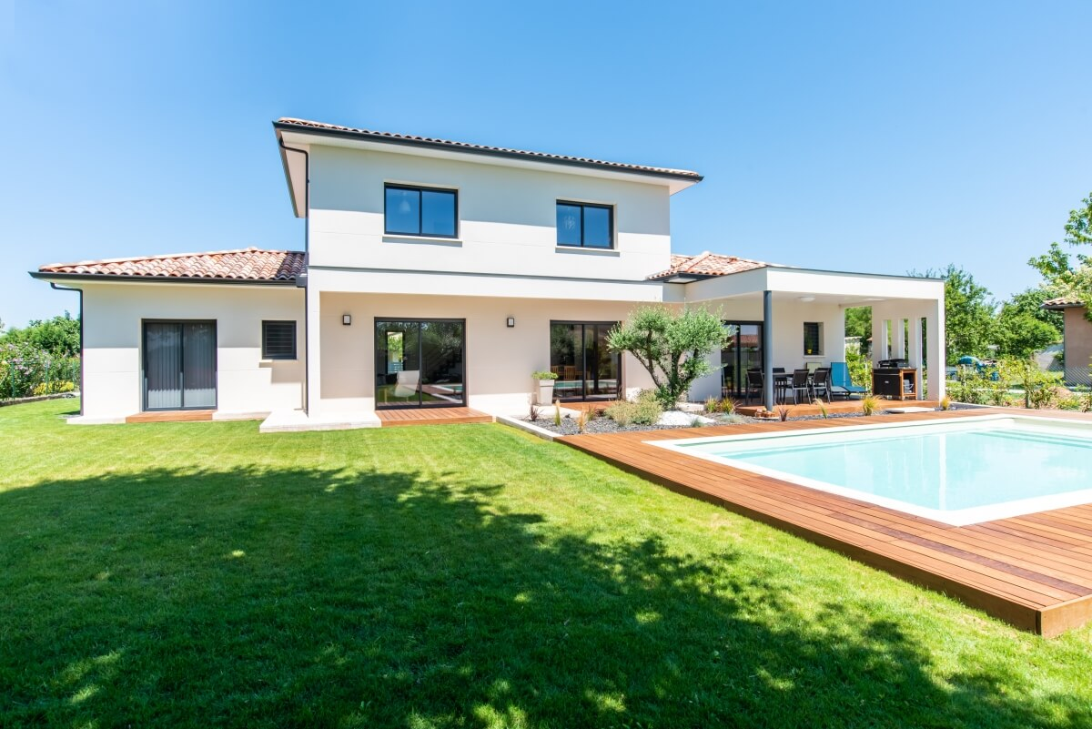 Grand Construction - Villa contemporaine n61