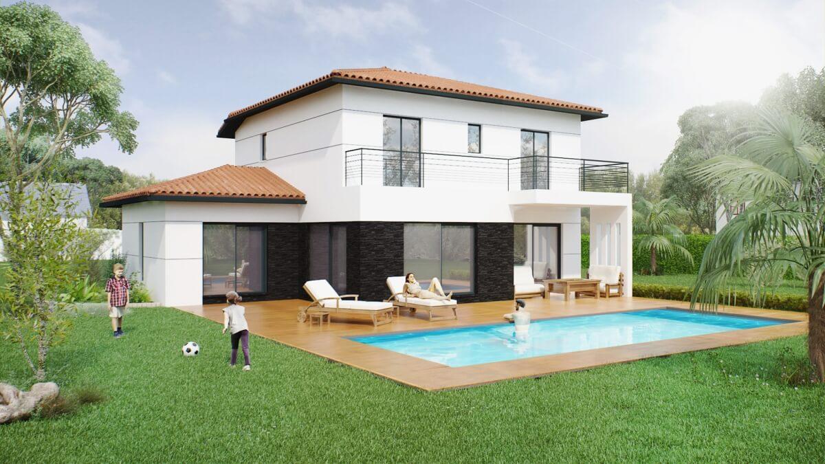 Grand Construction - Maison à étage : Maison Joy