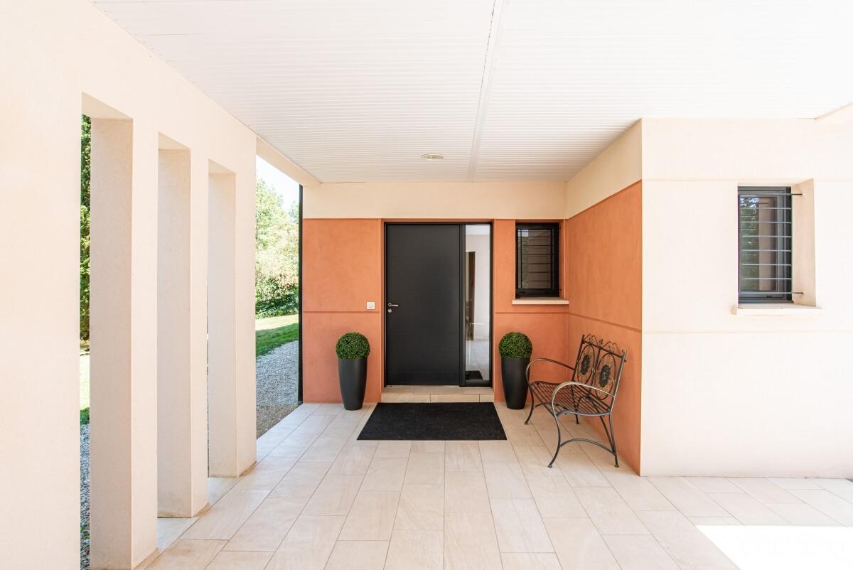 Maison contemporaine - extérieur