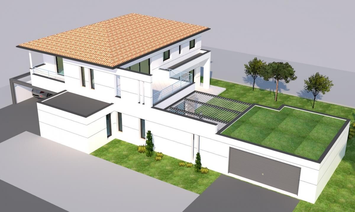 Maison individuelle contemporaine n°53