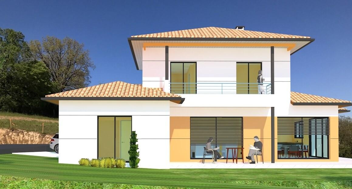 Maison individuelle - extérieur
