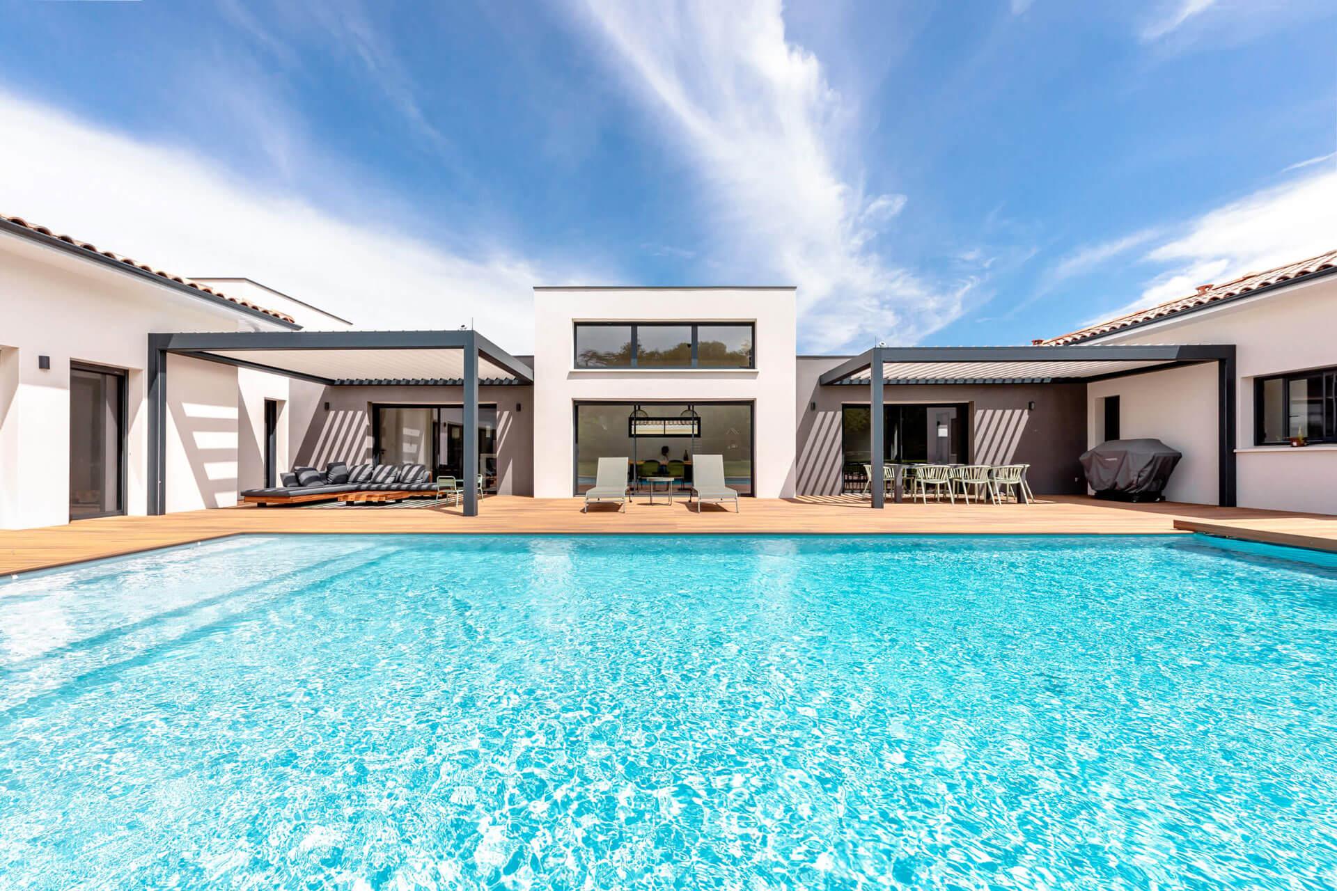 Grand Construction - Villa contemporaine Toulouse N°70