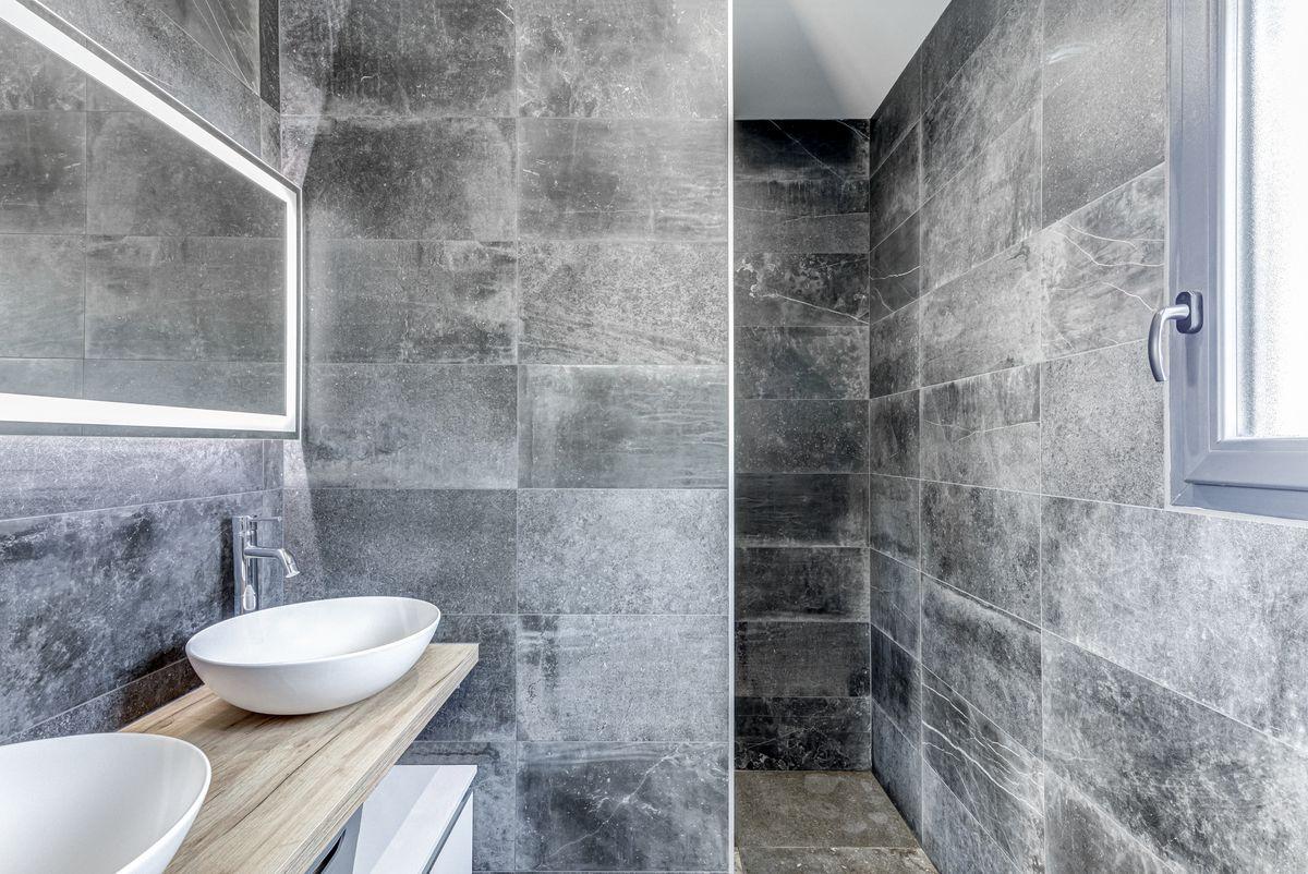 Maison individuelle toulouse - contemporaine - salle d'eau - suite parentale -