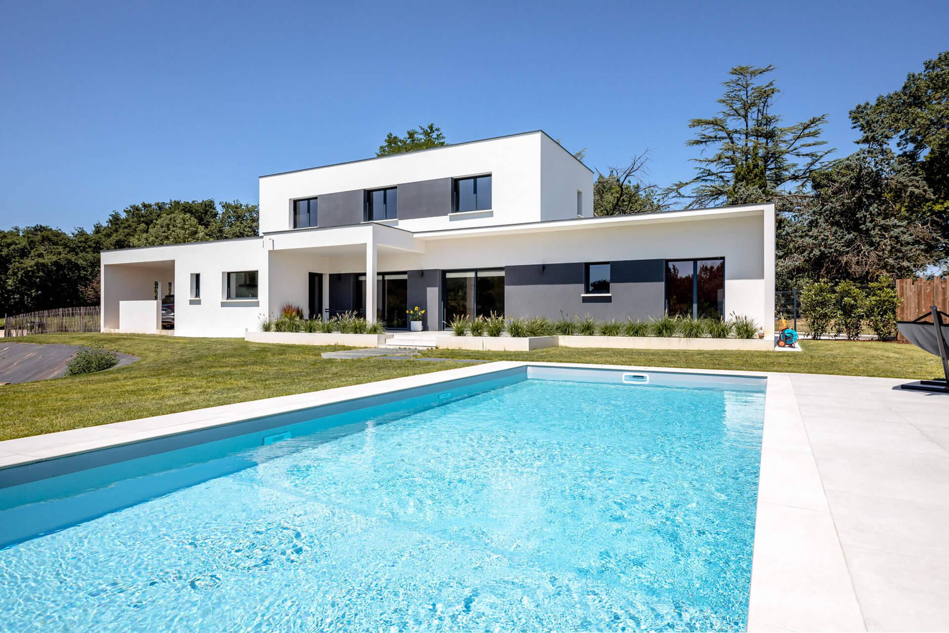 Grand Construction - Villa contemporaine toulouse n71