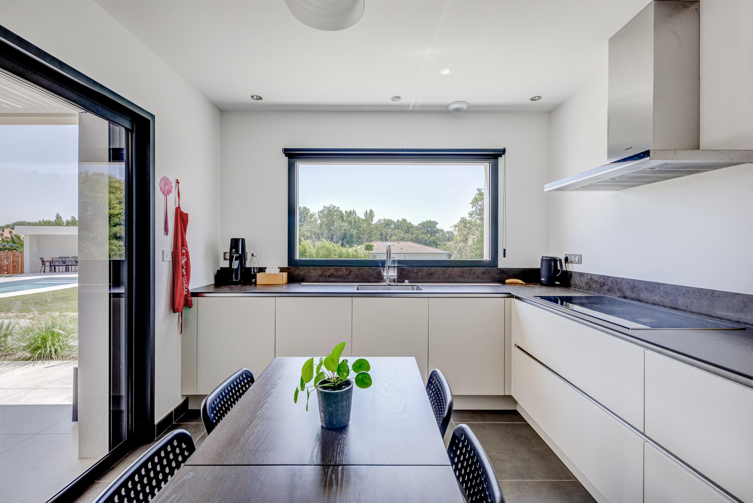 constructeur maison contemporaine toulouse avec cuisine